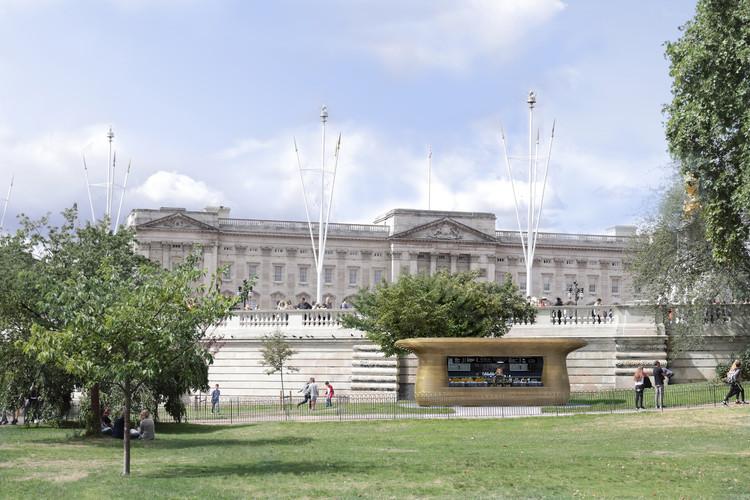 Quioscos de Royal Parks. Imagen © Horseshoe Bend