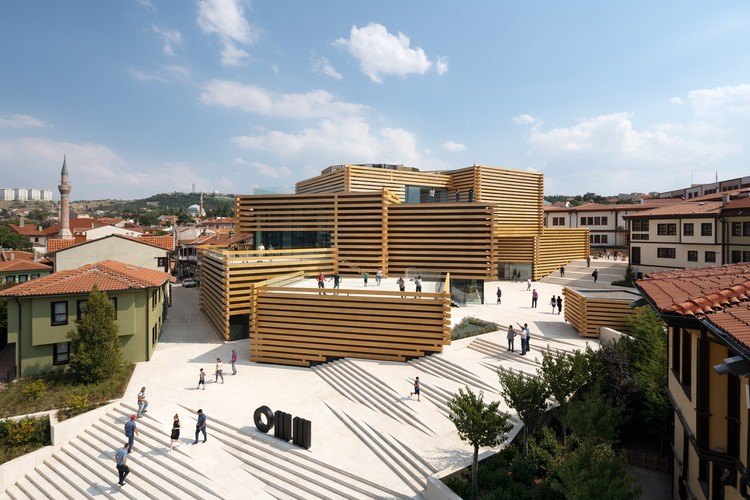 New Iconic Museum for Turkey by Kengo Kuma and Associates , © NAARO