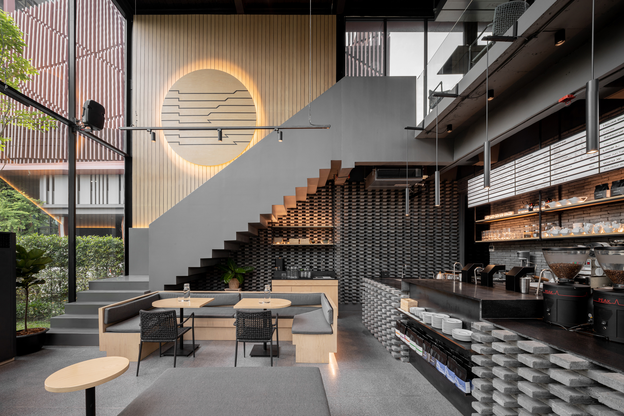 Kaizen Coffee Space Craft Archdaily