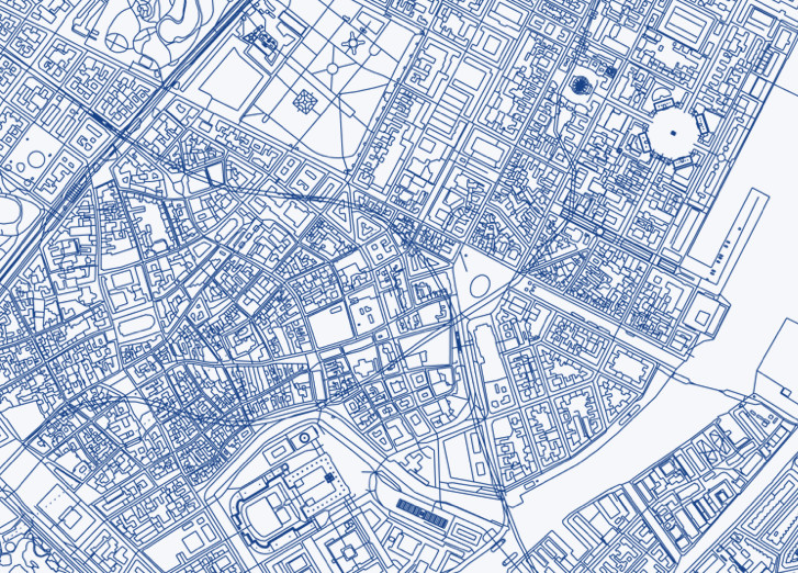 Free CAD Files of 241 Major World Cities, Copenhague, Dinamarca. Via bdon.org