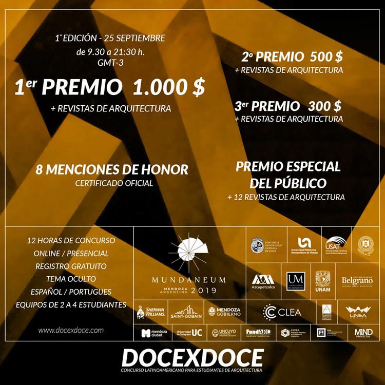 DOCEXDOCE Latinoamérica 1ª edición, DOCEXDOCE