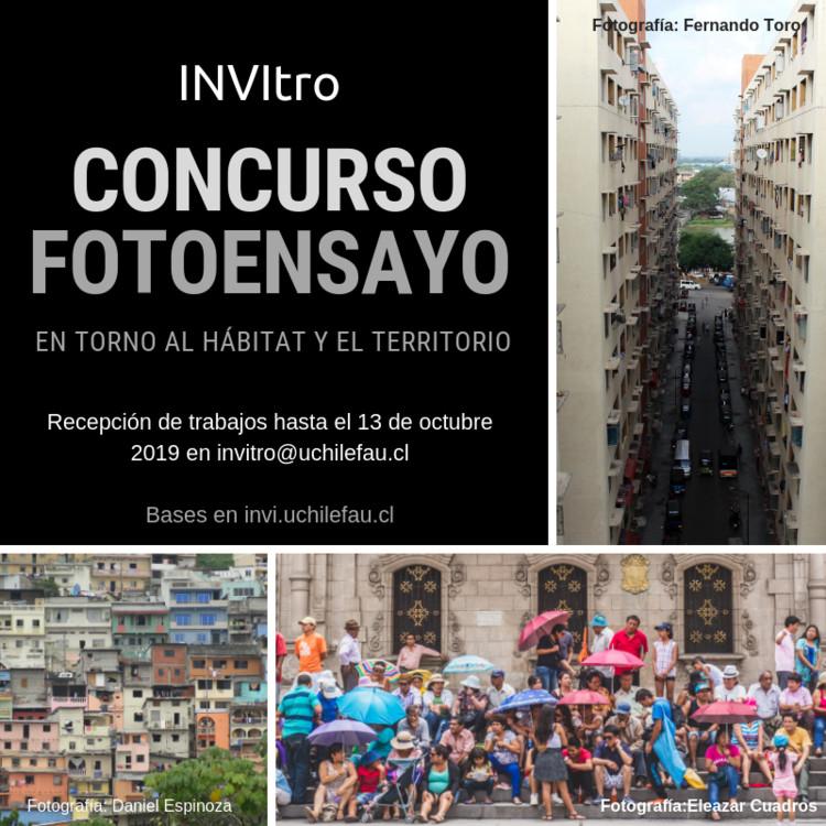 INVITRO: Concurso foto-ensayo en torno al hábitat y el territorio 2019, INVI