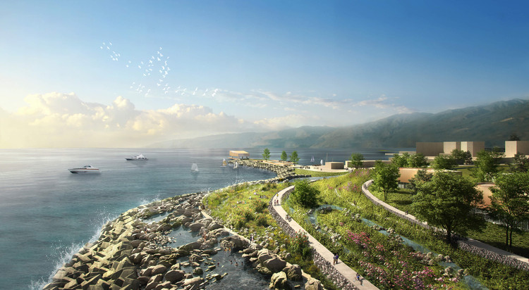 KCAP + Felixx Win the Competition for the Redevelopment of Shenzhen's Damaged East Coast, © KCAP + Felixx