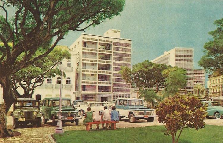 Universidade Federal de Alagoas concede à arquiteta Zélia Maia Nobre o título de Doutora Honoris Causa, Parque Hotel. Image © Acervo de Zélia Maia Nobre, doado à FAU - UFAL