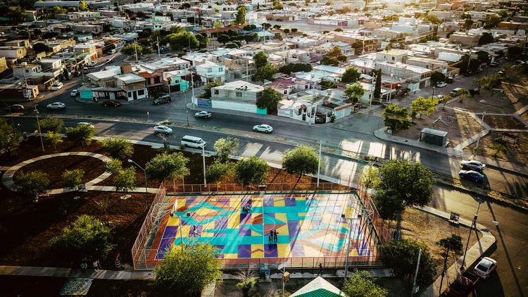 Basketcolor: identidad, juego y resiliencia en la frontera de México, © Nómada Laboratorio Urbano