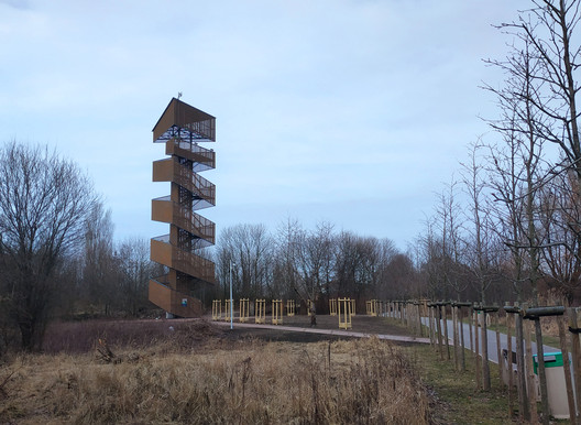 Lookout Tower in Poznań / Toya Design