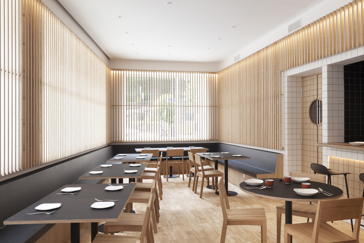 Restaurante Akari / Estudio Peña Ganchegui, © Pablo Axpe