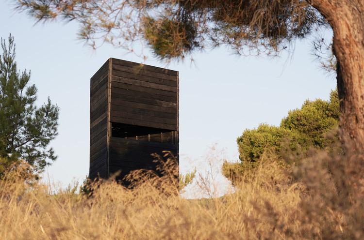 Dark Beacon Pavilion / Kieran Donnellan + MEDS (Meetings of Design Students), © Vlad Georgiev