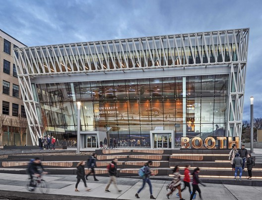 Joan & Edgar Booth Theatre and the College of Fine Arts Production Center / Elkus Manfredi Architects