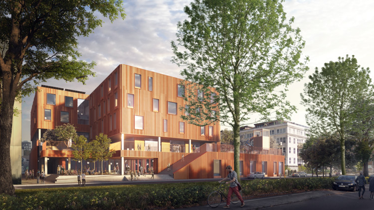 Christensen & Co Design New Learning Spaces in Copenhagen, © EDiT - architectural visualization studio, Christensen & Co