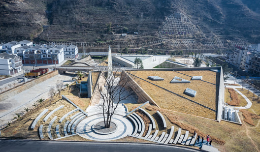 Earthquake Memorial Hall and Relics Park in Longtou mountain Town / HUAXIA Architects Studio