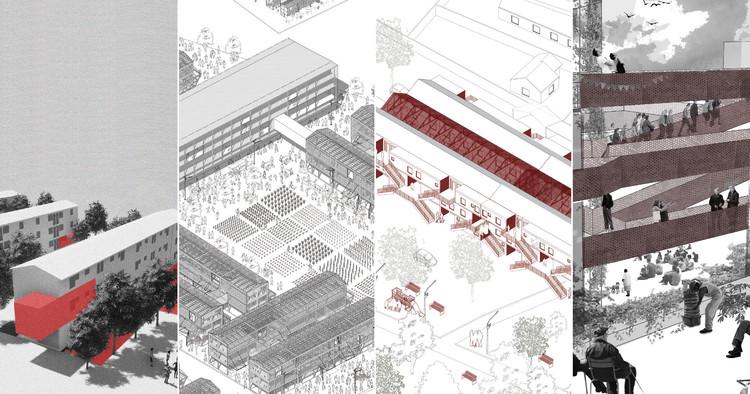 21 equipos universitarios imaginan intervenciones en históricos bloques residenciales en Santiago, Cortesía de Semana UTEM