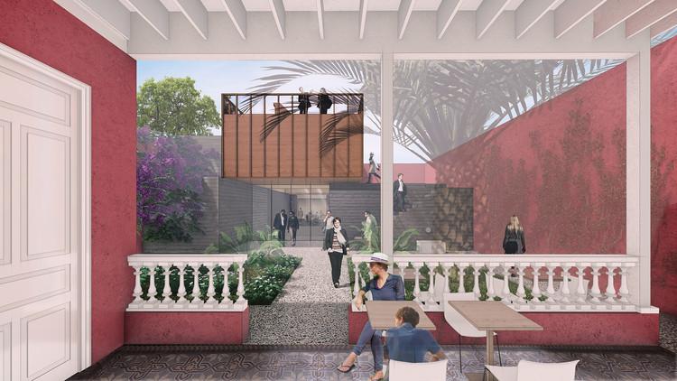 Proyecto de ampliación para casa patrimonial en Lima transforma el patio trasero en el centro del edificio, Cortesía de ESARQUITECTURA + Roman Bauer Arquitectos