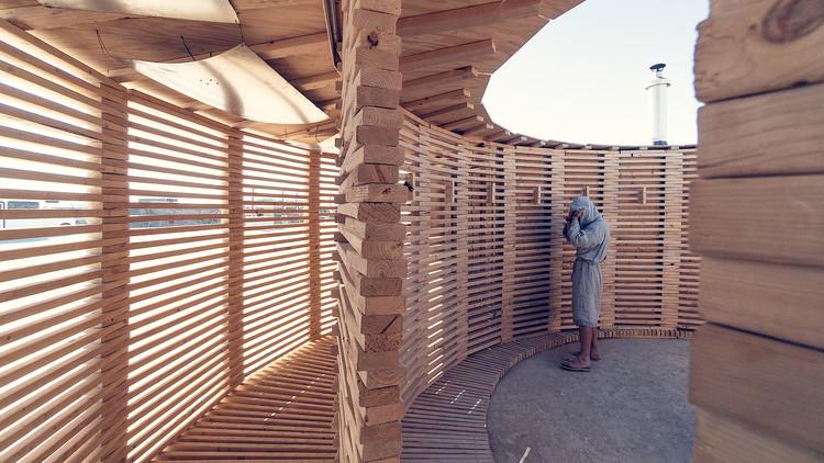 Steam of Life Pavilion / JKMM Architects, © Hannu Rytky