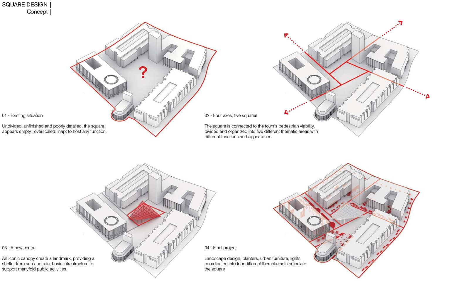 Gallery of Anting New Town Central Square Renovation ... on