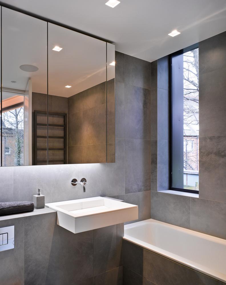 ¿Cuáles son los mejores revestimientos para baños?,© Nick Kane. Image Terraço Nutley / Belsize Architects