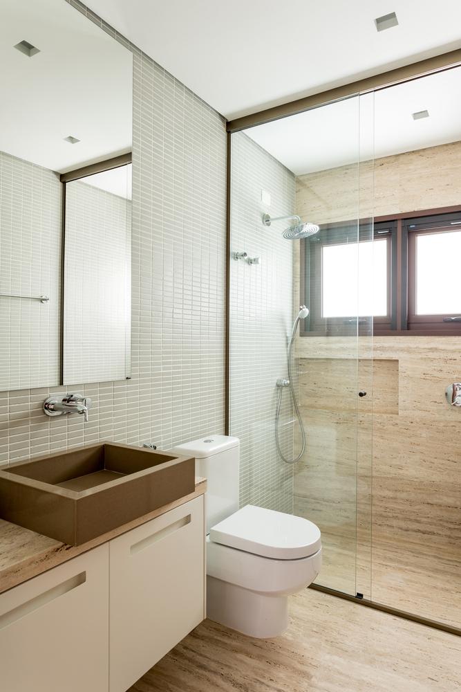 ¿Cuáles son los mejores revestimientos para baños?,© Fran Parente. Image Ibiuna House MP / DT Estúdio