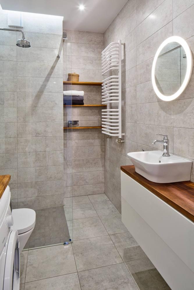 ¿Cuáles son los mejores revestimientos para baños?,© Piotr Krajewski. Image Białołęka Flat / All Arquitectura