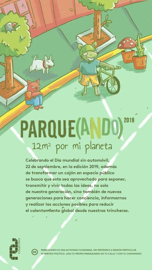 "Parqueando 2019 ""12m² por mi planeta"""