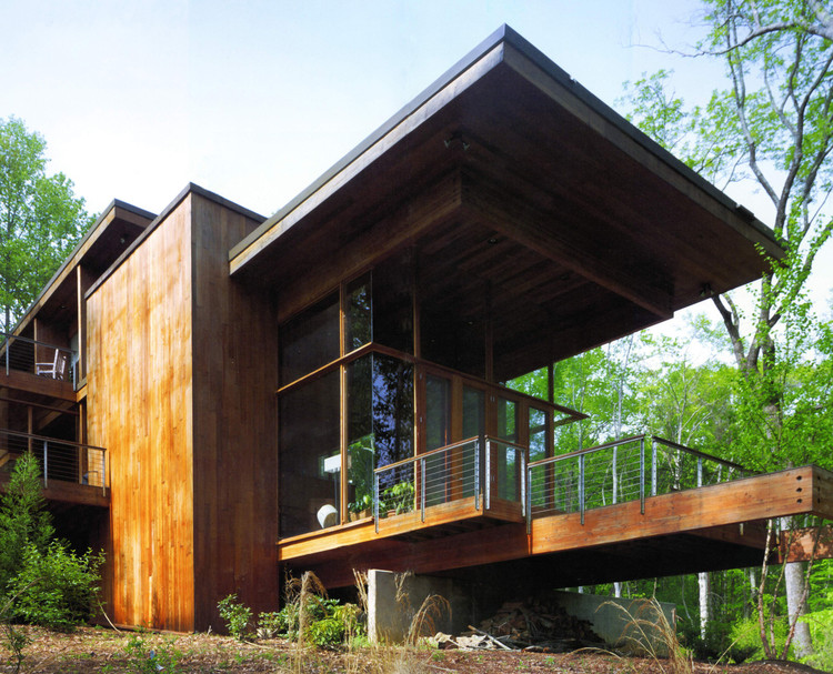 Ray Kappe on SCI-Arc and Architectural Challenges, Frankel Residence in North Carolina / Ray Kappe. Image© Kappe Architects