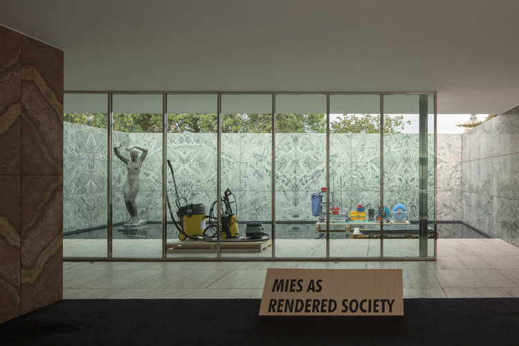 """Não queremos mais ser modernos"": entrevista com Andrés Jaque, Exposição ""PHANTOM. Mies as Rendered Society"". Cortesia de Andrés Jaque—Office for Political Innovation"