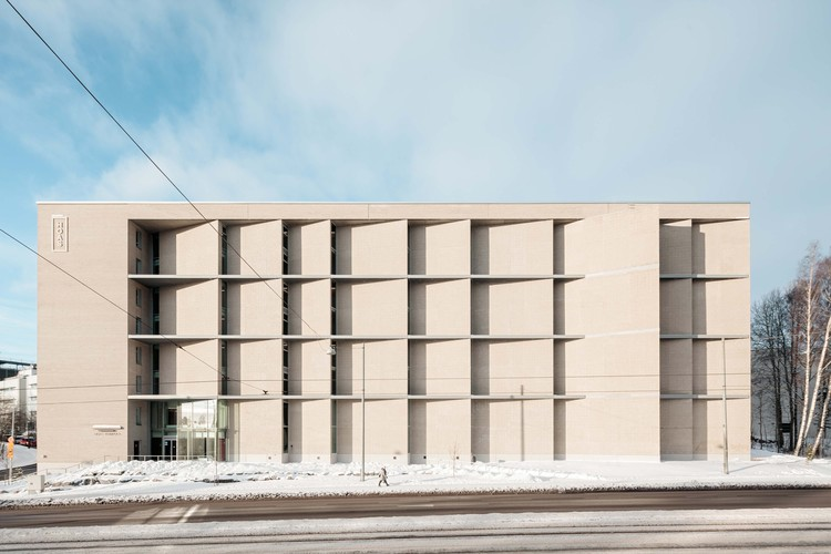 Kumpula Student Housing / Playa Architects, © Tuomas Uusheimo