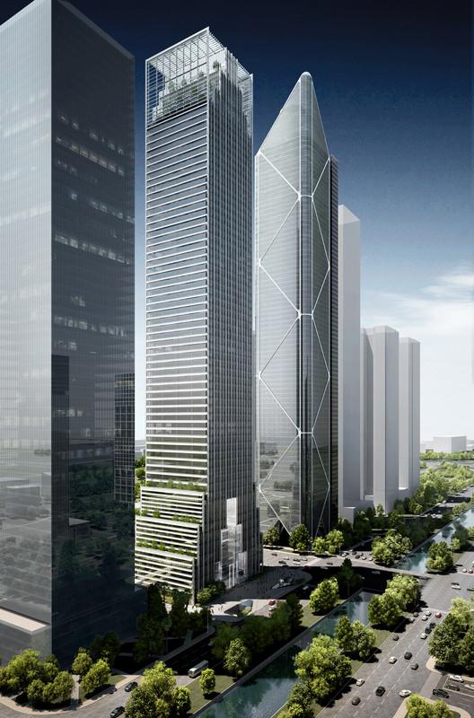 FGP Atelier inicia la construcción del Centro Cultural Internacional Guangzhou en China, © FGP Atelier