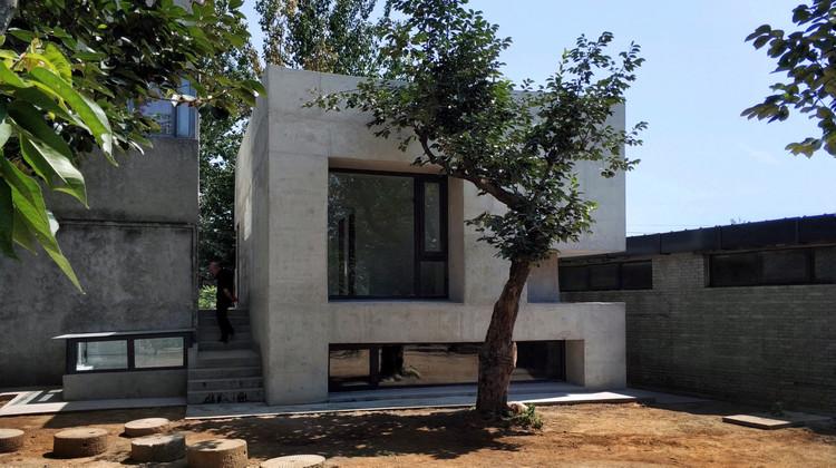 Shangyuan House / Robot3 Studio, West elevation. Image Courtesy of Robot 3 Studio