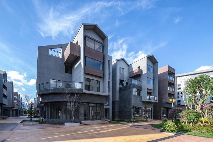 Pu'er Shan Zhi Meng Custom-Designed Neighborhood / YIC Architectural Design, inner cluster. Image © Xianzhi Huang