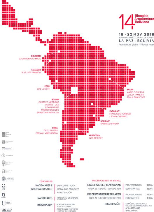 14° Bienal de Arquitectura Boliviana, EQUIPO DE DIAGRAMA (14 Bienal de Arquitectura Boliviana)