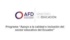 Mejoramiento de la Unidad Educativa Rita Lecumberri en Ecuador