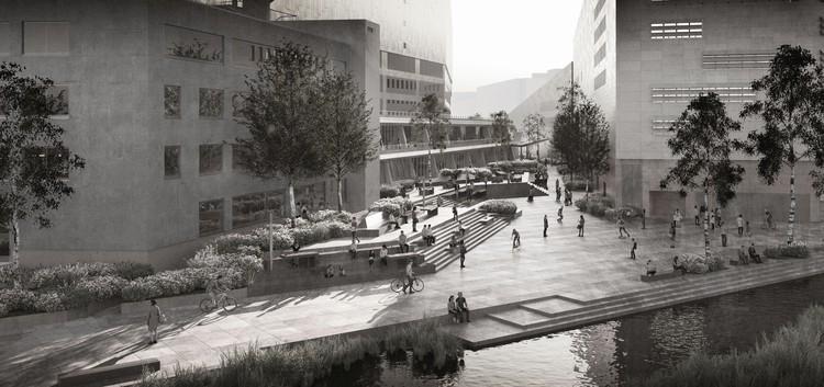 GMP vence concurso para a modernização da biblioteca projetada por Hans Scharoun em Berlim, Cortesia de gmp Architekten