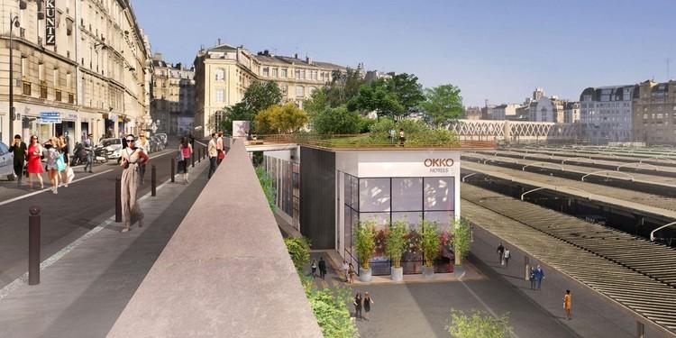 Jardim em homenagem à vereadora Marielle Franco é inaugurado em Paris, Proposta para o Jardim Marielle Franco em Paris. Imagem: Prefeitura de Paris / Divulgação