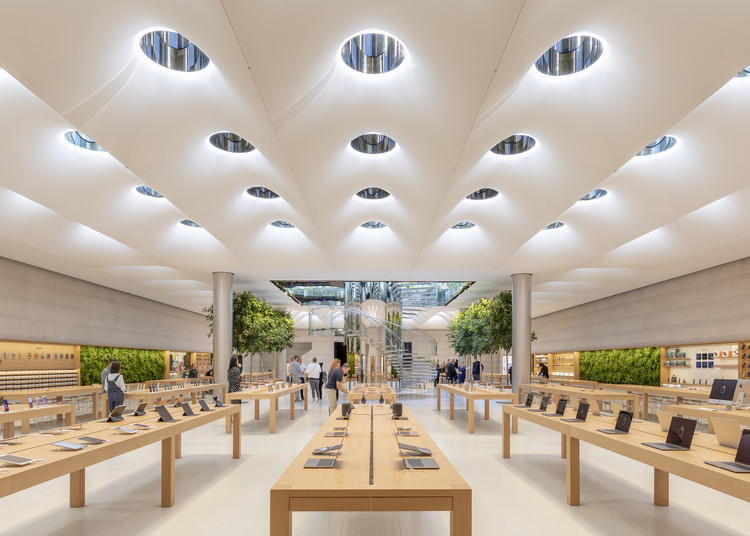 Tienda Apple Fifth Avenue / Foster + Partners, © Aaron Hargreaves / Foster + Partners