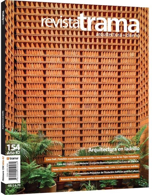 TRAMA 154: Arquitectura en ladrillo