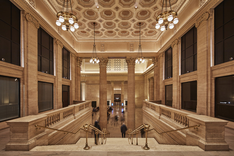 Chicago Union Station Great Hall Restoration / Goettsch Partners, © Tom Harris