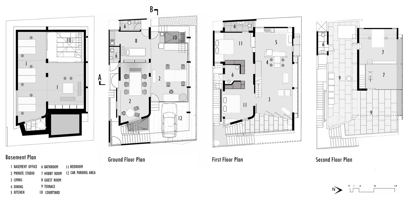 Gallery Of Creative Lab House Meeta Jain Architects 16