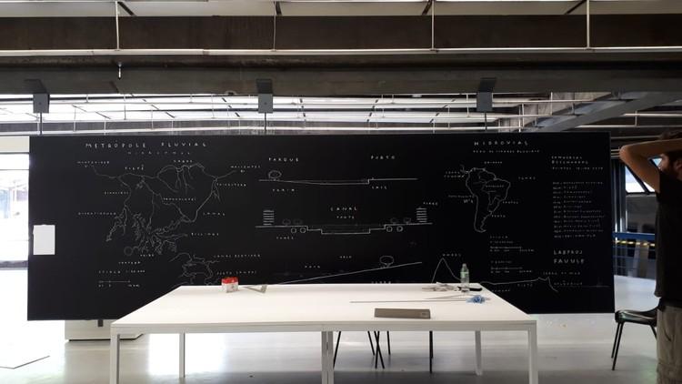 Metrópole Fluvial - Tardes de Projeto / Conversas Desenhadas, Metrópole Fluvial - Tardes de Projeto / Conversas Desenhadas. Laboratório Laboratório de Projeto (LABPROJ) da Faculdade de Arquitetura e Urbanismo (FAU USP)
