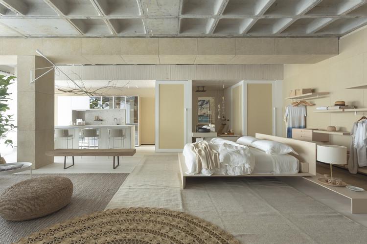 Loft Pra Perto do Mar / Juliana Pippi Arquitetura, © Marina Boro