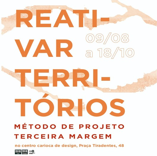 Reativar Territórios: método terceira margem, Exposição Reativar territórios: método Terceira Margem | Design: Julia Sá Earp