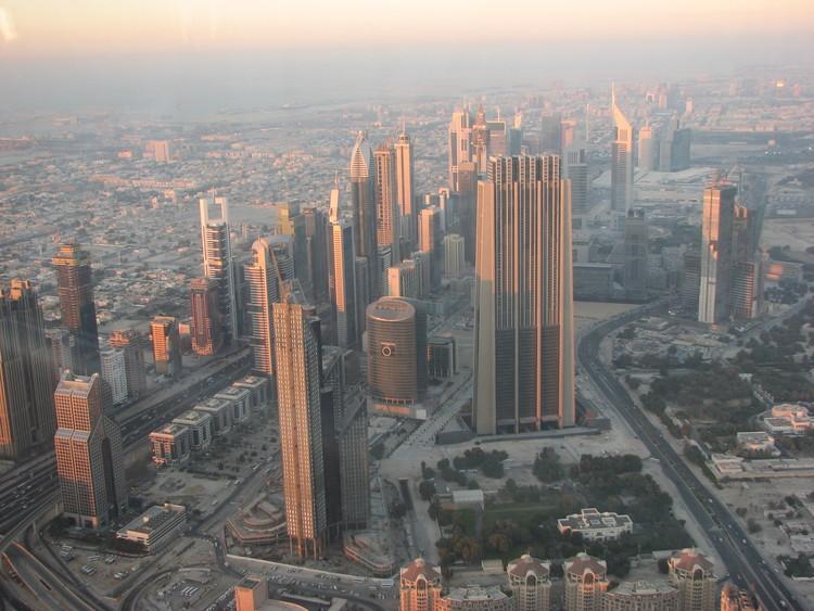 Skyline of Dubai, UAE. Image © Flickr user skhakirov under the license CC BY-SA 2.0