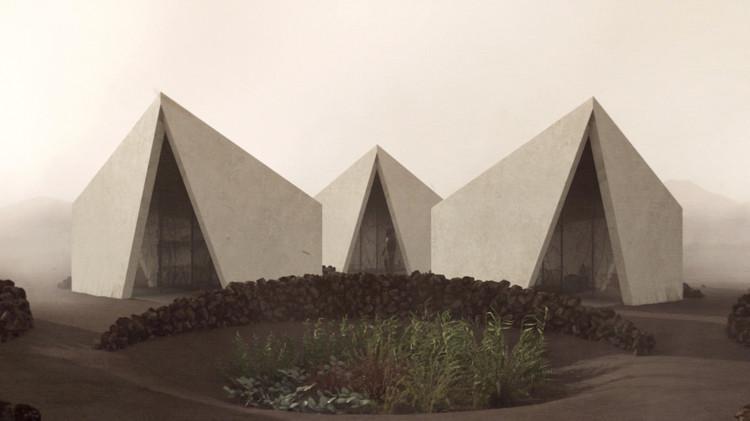 Windbracing: um filme de arquitetura de Christophe Benichou, © CHRISTOPHE BENICHOU ARCHITECTURES