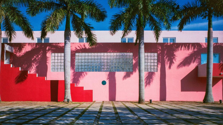 Arquitectonica Wins 2019 American Prize for Architecture, Pink House, Miami. Image © Arquitectonica