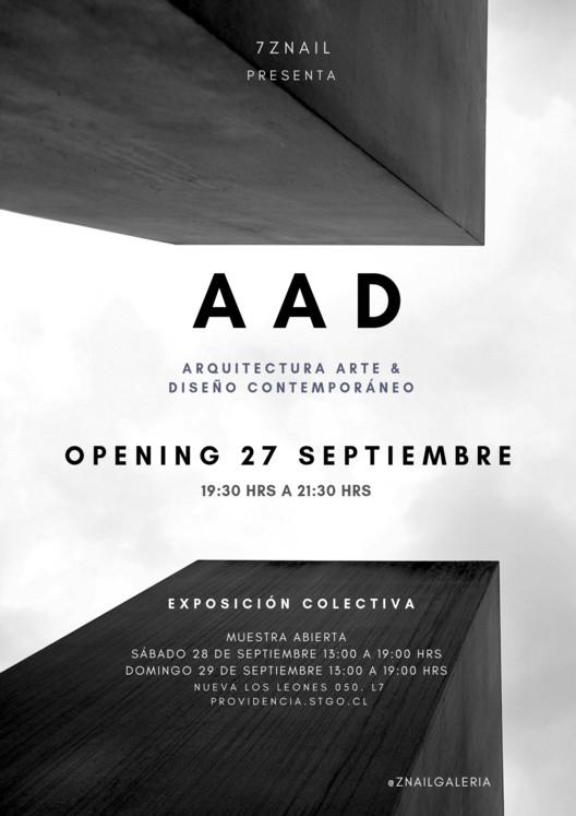 AAD Arquitectura Arte & Diseño Contemporáneo , 7ZNAIL galeria AAD