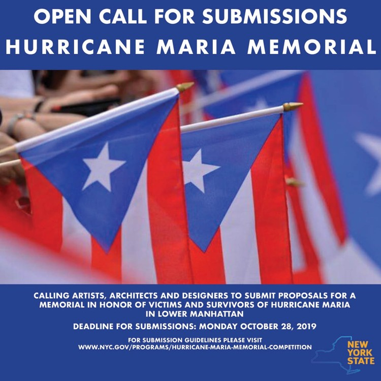 Hurricane Maria Memorial Public Art Project