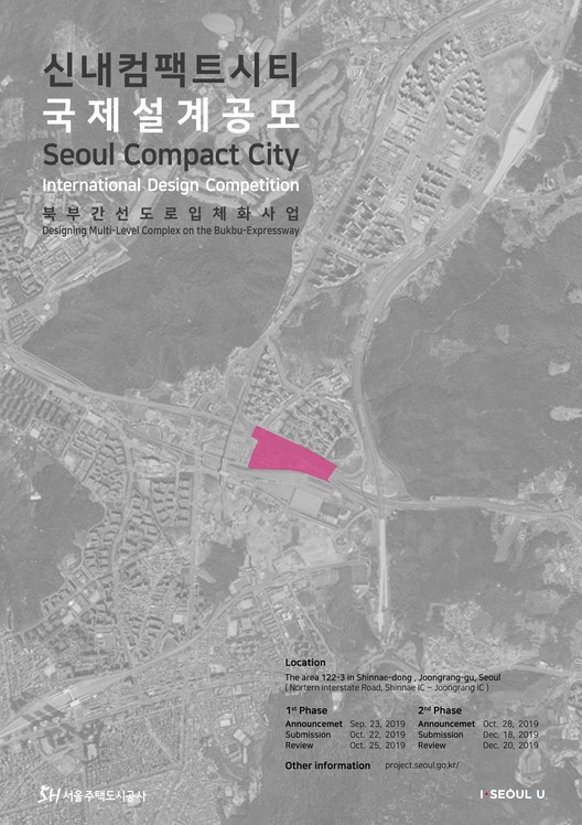 Seoul Compact City International Design Competition - Designing Multi-Level Complex on the Bukbu Expressway, Seoul Compact City International Design Competition
