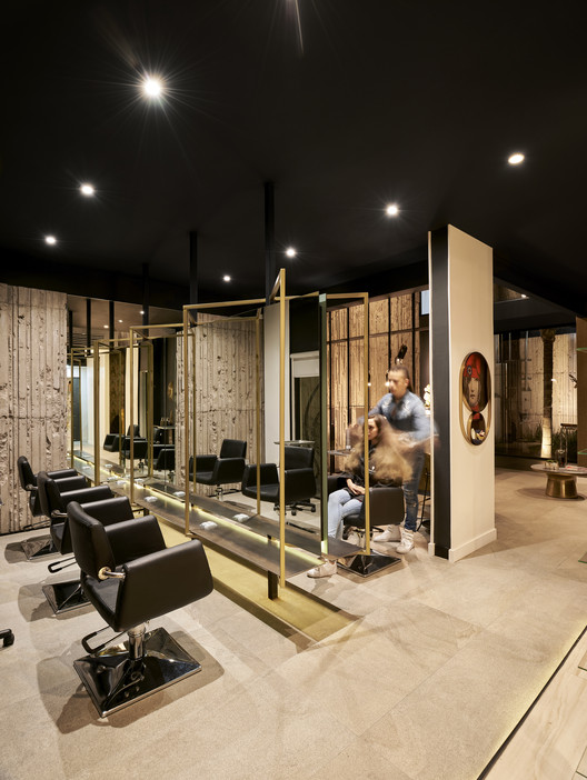 Anthro Salon / GRAY Arquitectura & Forma, © Raúl Villalobos