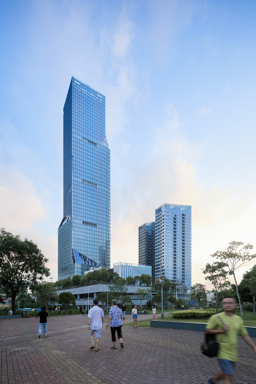 Shenzhen North Station Huide Tower / HPP, © Tianpei Zeng