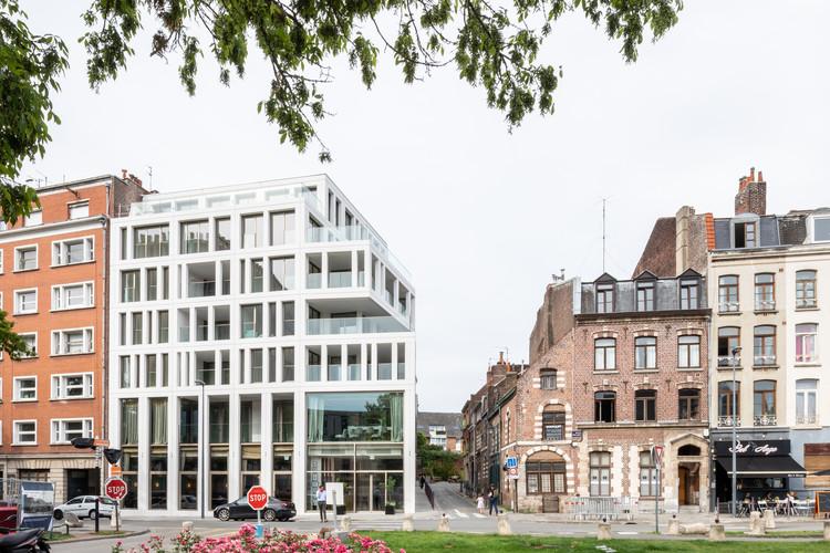 Peuple Belge Building  / Coldefy & Associés Architectes Urbanistes, © Salem Mostefaoui