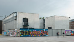 Kalasatama Electricity Substation and Suvilahti Graffiti Fence / Virkkunen & Co Architects